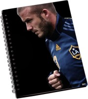 Shoprock David Beckham A5 Notebook Ring Bound (Black)