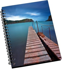 POOLS MULTICOLOR PRINTED A5 Notebook Spiral Bound