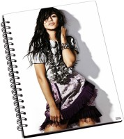 Shoprock Vanessa Anne Hudgens Style A5 Notebook Ring Bound (Grey)