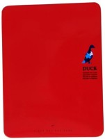 Pinnacle Red Tin Notebbok Assorted Notebook Adhesive Bound: Diary Notebook