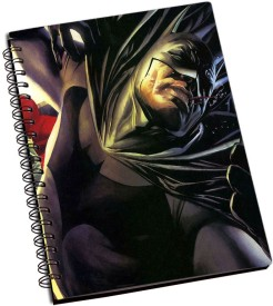 RangeeleInkers Batman Superman Fight A5 Notebook Spiral Bound