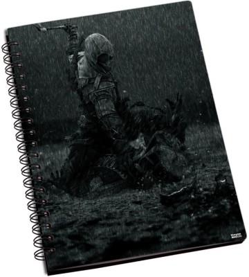 Bluegape AssassinS Creed A6 Notebook Spiral Bound Black