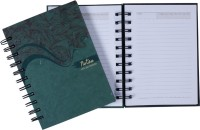 PaperPassion Write Your Tomorrow - Set Of 2 C6 Notebook Comb Bound (Green)