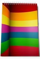 Thomson Press Color A5 Note Pad Spiral Bound (Multi Color)