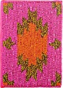 Fair Crafts Beaded A6 Diary Hard Bound - Pink