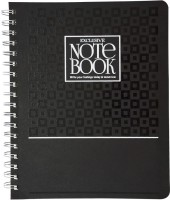 Imagine Products B5 5 Subject B5 Notebook Spiral Bound (Black)