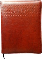 Excel 2016 Leather Cover A5 Diary Hard Bound (Brown)