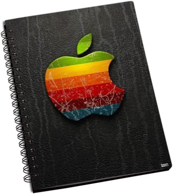 Apple Shoprock Apple Design A5 Notebook Ring Bound (Grey)