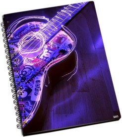 Shoprock Guitar Electric A5 Notebook Ring Bound