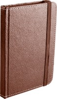 Ecoleatherette Handcrafted Cover Journal A6 Diary Hard Bound (Brown)