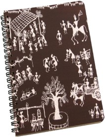 meSleep Ethnic 396 A5 Notebook Ring Bound