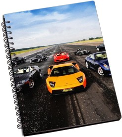 RangeeleInkers Ready To Race A5 Notebook Spiral Bound