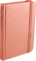 Ecoleatherette Handcrafted Cover Journal A6 Diary Hard Bound (Pink)