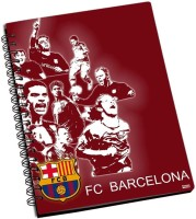Shoperite Barcelona All In One A5 Notebook Ring Bound (Multicolor)