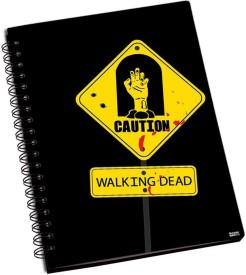 Shoprock Walking Dead A5 Notebook Ring Bound