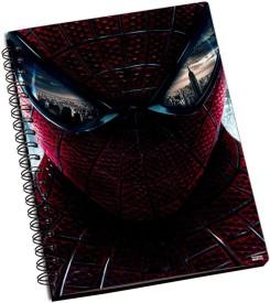 Shoprock Amazing Spiderman A5 Notebook Ring Bound
