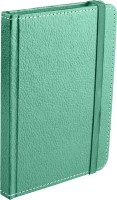 Ecoleatherette Handcrafted Cover Journal A6 Diary Hard Bound (Green)
