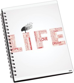 Shoprock Life Truths A5 Notebook Ring Bound