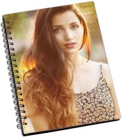 Shoprock Emily Rudd A5 Notebook Ring Bound (Brown)