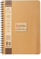 Bilt Matrix Premium B5 Notebook Spiral Bound (Brown, Pack Of 2)