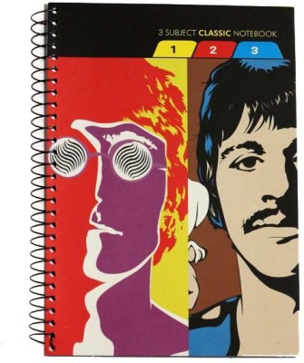 Anupam 3 Subject 240 Pages Classic D Book Size Notebook Hard