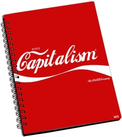 Shoprock Enjoy Capitalism A5 Notebook Ring Bound