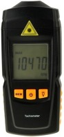 Pixel TACH-100 Non-contact And Contact Tachometer Thermometer (BLACK)