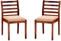 Smart Choice Furniture Solid Wood Dining Chair (Set Of 2, Finish Color - Provincial Teak)