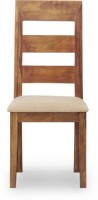InLiving Solid Wood Dining Chair (Set Of 1, Finish Color - Warm Rich)