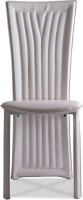 Durian BAZH/36212/B/DC Metal Dining Chair (Set Of 1, Finish Color - Beige)