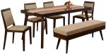 @home by Nilkamal @home by Nilkamal Matrix Solid Wood Dining Set