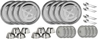 Sssilverware SS-DI-SET-32-01 Pack Of 32 Dinner Set (Stainless Steel)