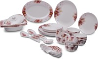 CookNook Winona Delight Pack Of 40 Dinner Set (Melamine) - DNSE8HS8ZY4XU567