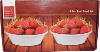 Dine Smart Bowl Set Pack Of 2 Dinner Set (Melamine)