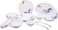 Vansh Traders Food Grade Pure Melamine Pack Of 24 Dinner Set (Melamine) - DNSE88HGQGGQD7XX