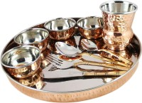 King International Copper Dinner Set Pack Of 10 Dinner Set (Copper)