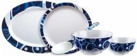 IVEO Fantastic Pack Of 23 Dinner Set (Melamine)