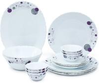 LA OPALA AMBER LILY Pack Of 21 Dinner Set (Ceramic)