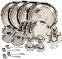 Sssilverware SS-DIS-24PCS Pack Of 24 Dinner Set (Stainless Steel)