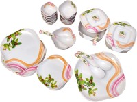 Diamond Apple Pack Of 34 Dinner Set (Melamine)