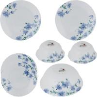 Larah Pack Of 7 Dinner Set (Ceramic) - DNSE6FBF4ZHGGFZV