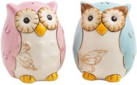 Chumbak Owl Be There For You Salt And Pepper Shaker Dinner Set (Crystal)