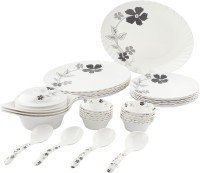 Tibros Pack Of 32 Dinner Set (Melamine) - DNSE8YZZDF7HQHQP