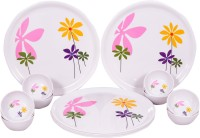 Radhe (Tableware Of Your Choice) Pulse 3 Pack Of 18 Dinner Set (Melamine)