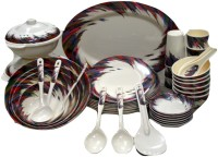 Sharif Melamine Pack Of 51 Dinner Set (Melamine) - DNSEEKFGWRWJRJMG