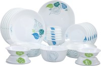 Corelle Foliage Pack Of 30 Dinner Set (Glass)