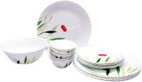 La Opala Gentle Meadows Pack Of 19 Dinner Set (Ceramic)