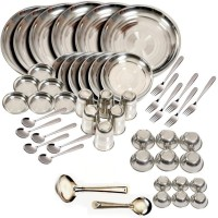 King International Pack Of 50 Dinner Set (Stainless Steel)