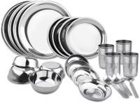 Sssilverware SS-DNR-set-24 Pack Of 24 Dinner Set (Stainless Steel)