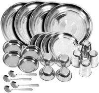 King International Pack Of 24 Dinner Set (Stainless Steel)